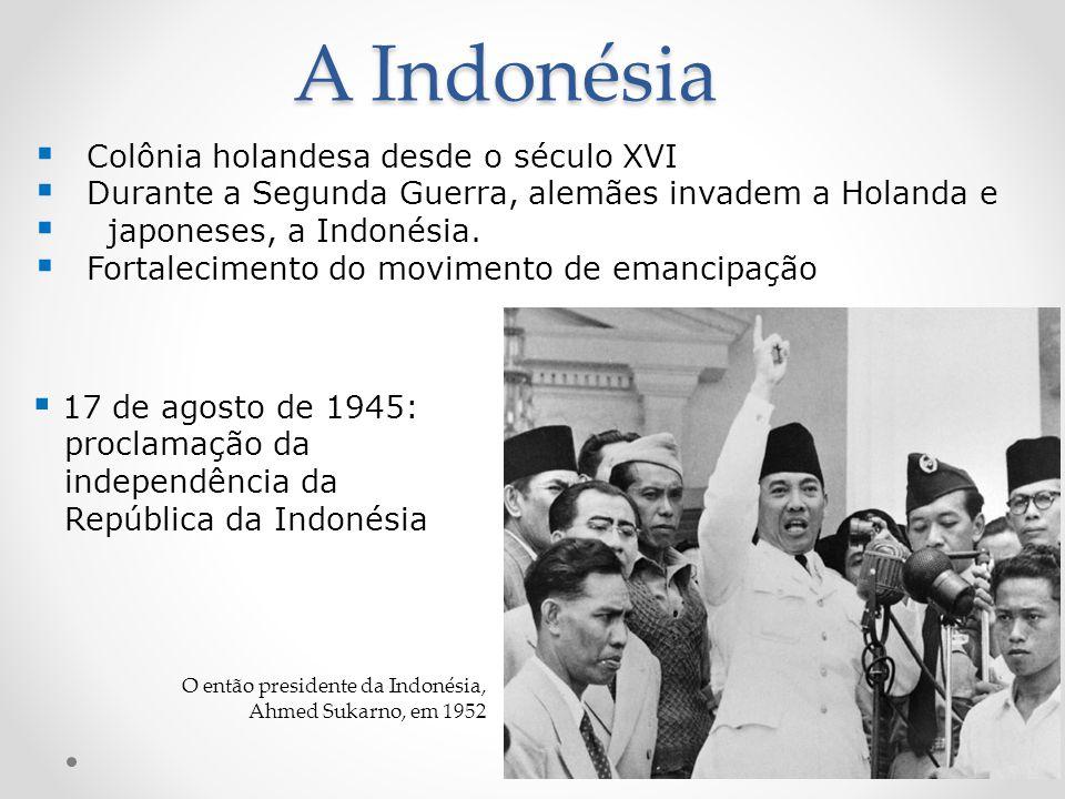 A Indonésia Colônia holandesa desde o século XVI
