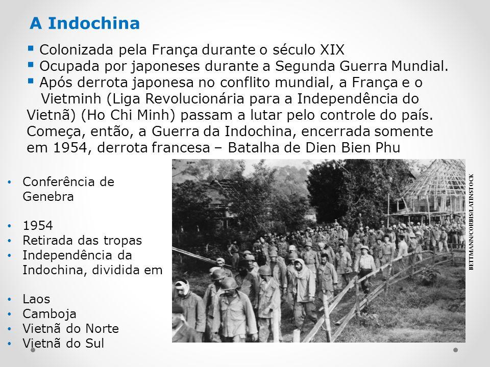 A Indochina Colonizada pela França durante o século XIX