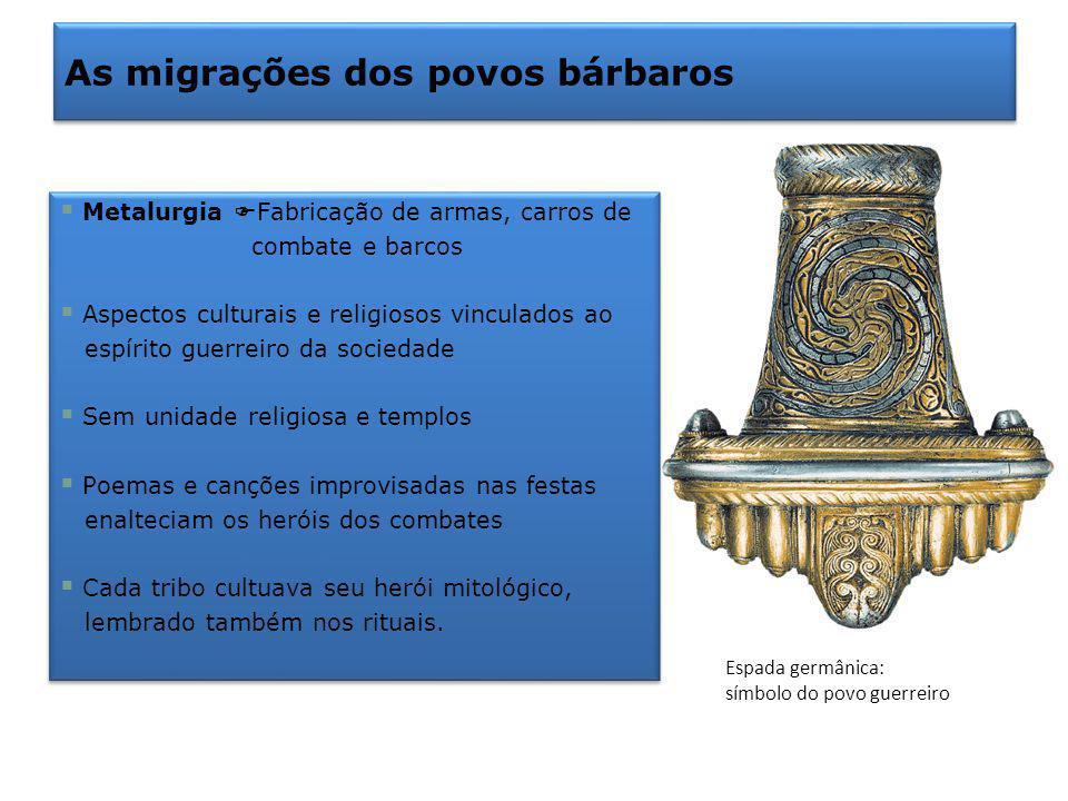 As migrações dos povos bárbaros