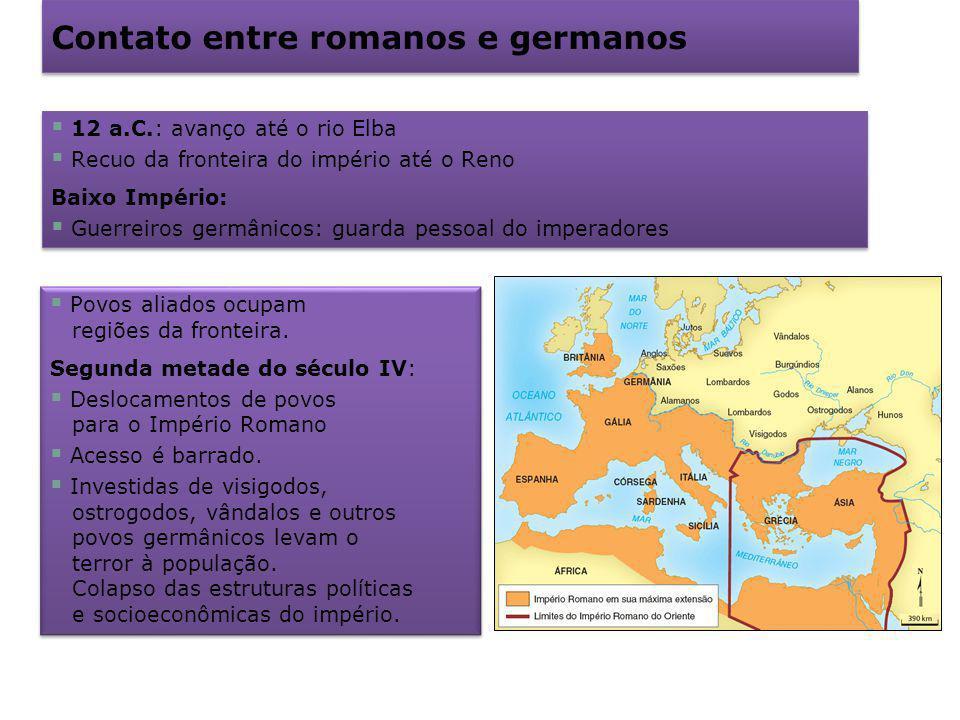 Contato entre romanos e germanos