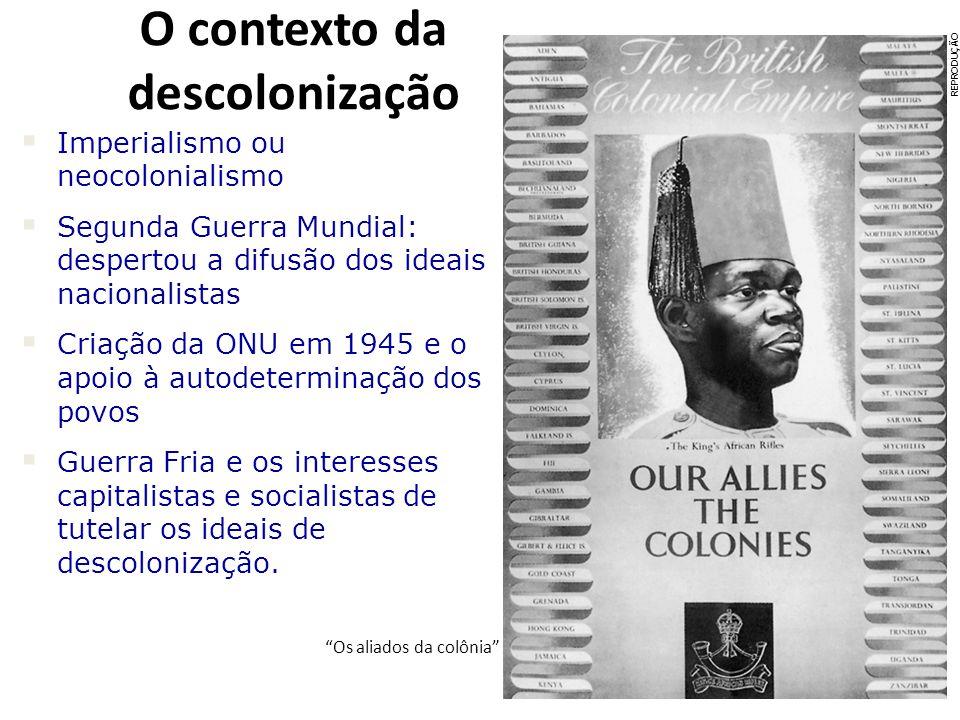 O contexto da descolonização