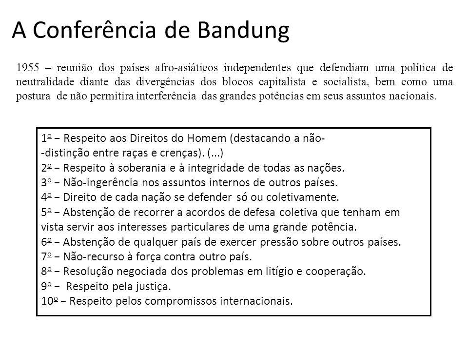 A Conferência de Bandung