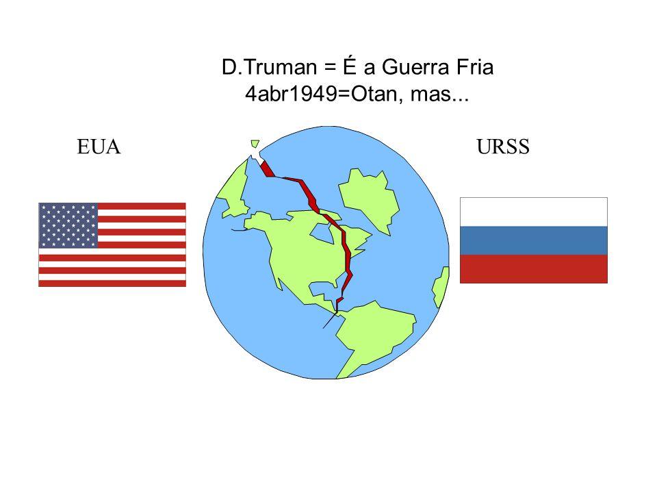 D.Truman = É a Guerra Fria