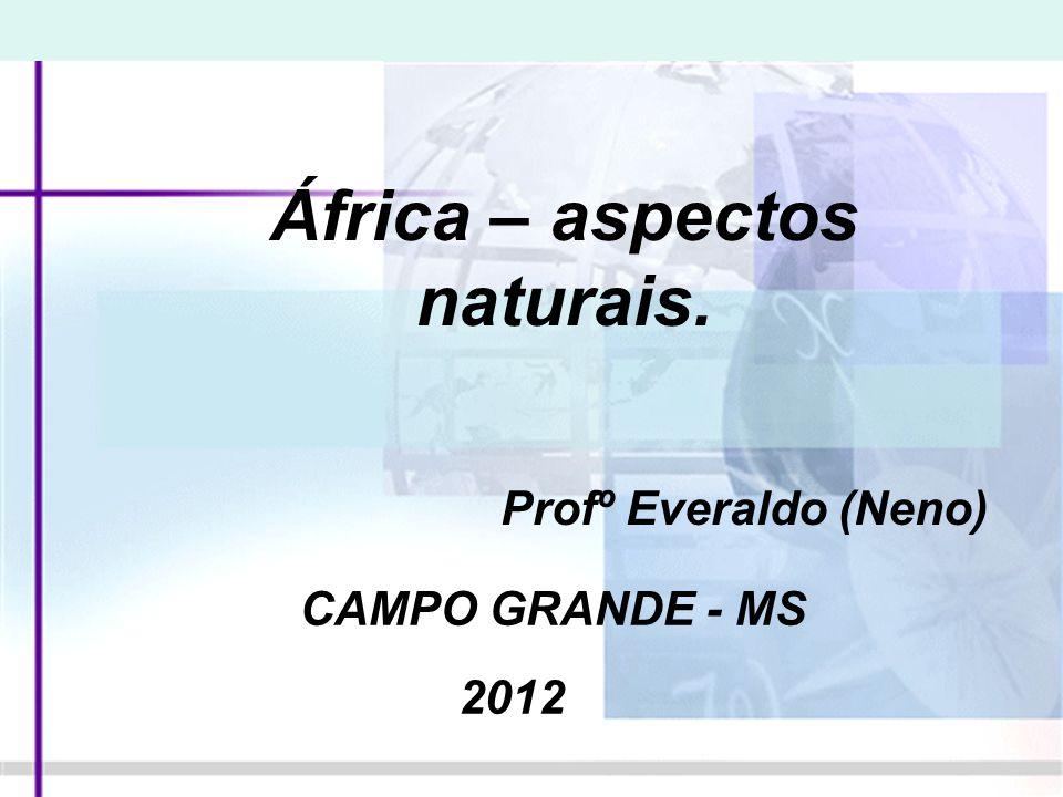 África – aspectos naturais.