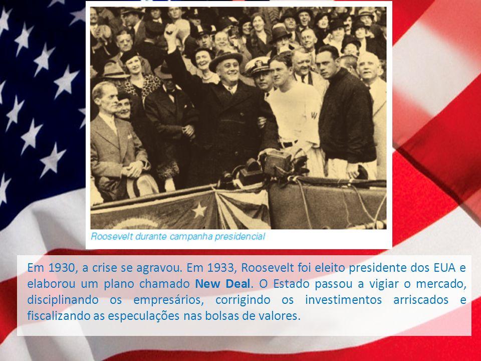Em 1930, a crise se agravou.