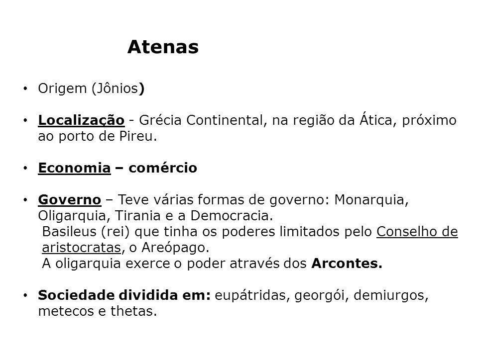 Atenas Origem (Jônios)