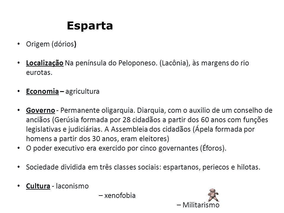 Esparta Origem (dórios)
