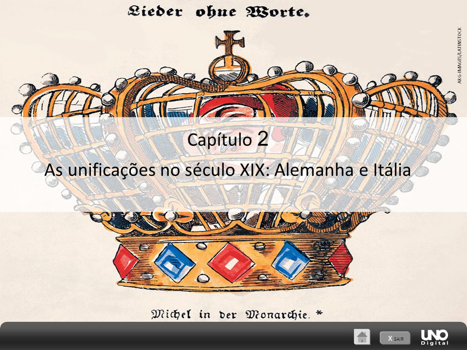 As unificações no século XIX: Alemanha e Itália
