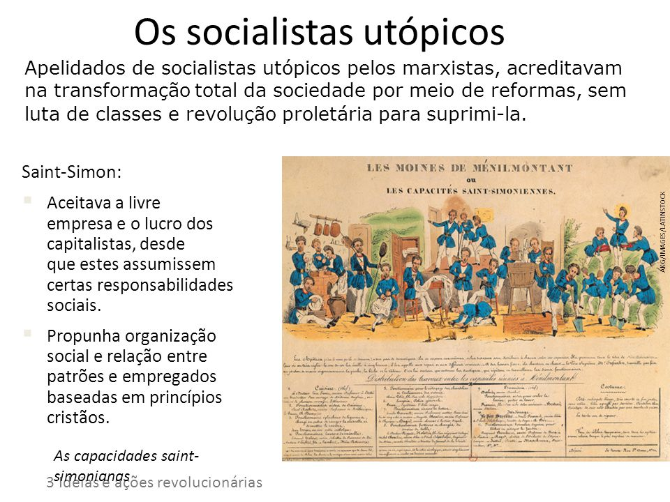 Os socialistas utópicos