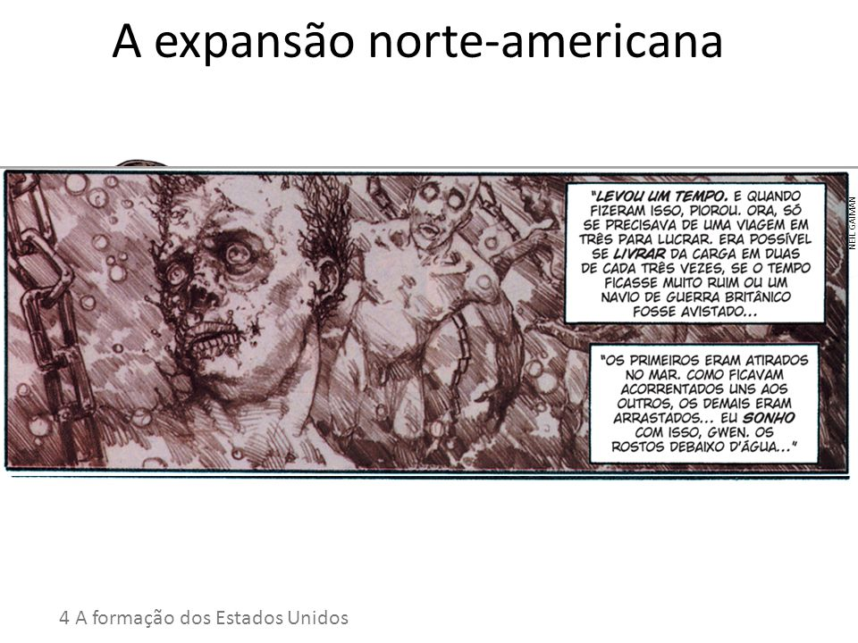A expansão norte-americana
