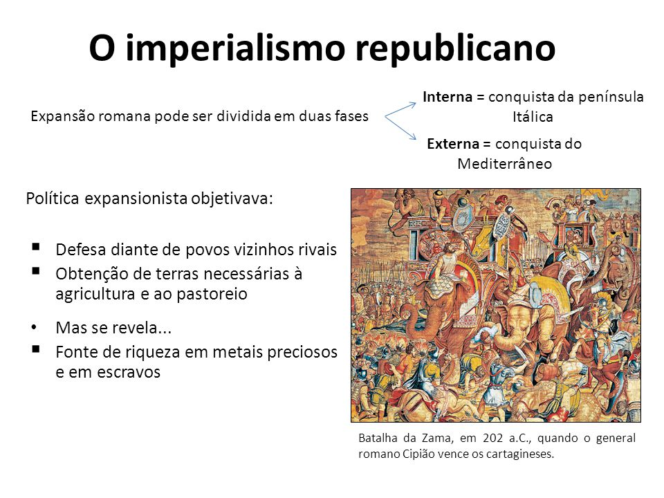 O imperialismo republicano