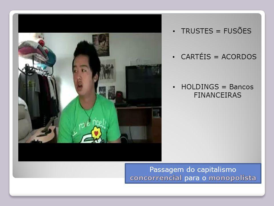 HOLDINGS = Bancos FINANCEIRAS