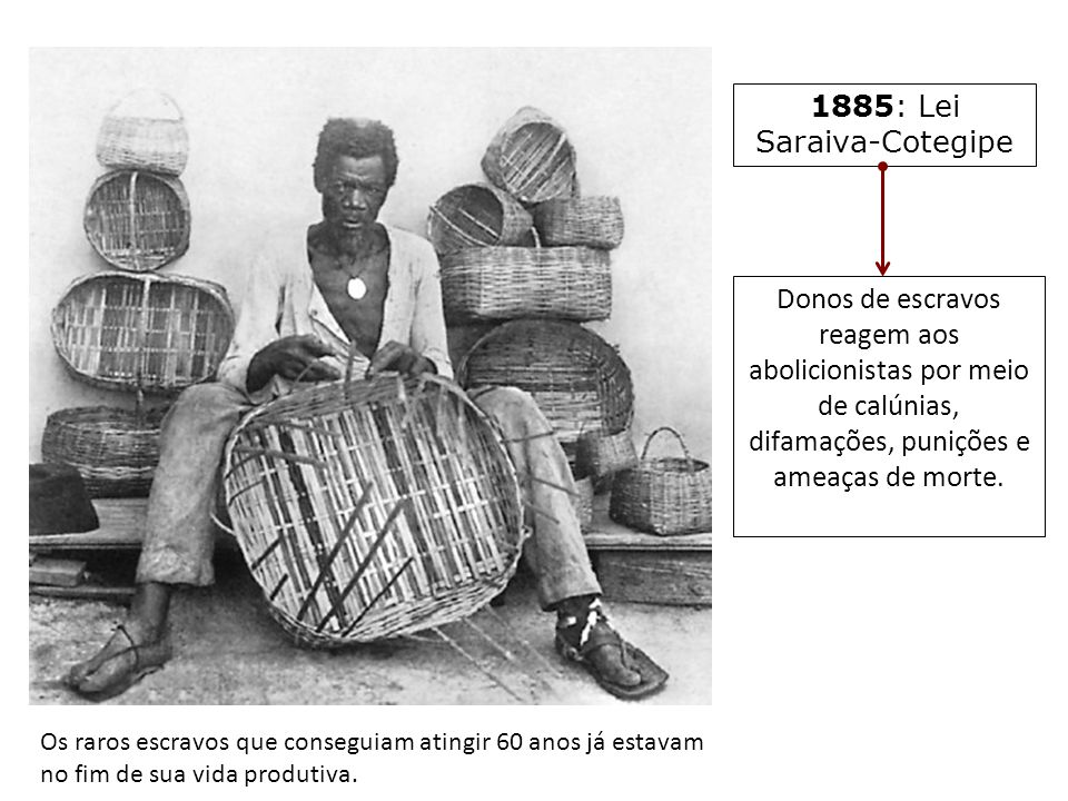 1885: Lei Saraiva-Cotegipe