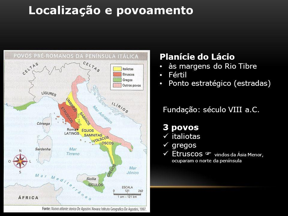 Localização e povoamento