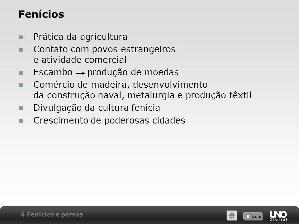 Fenícios Prática da agricultura