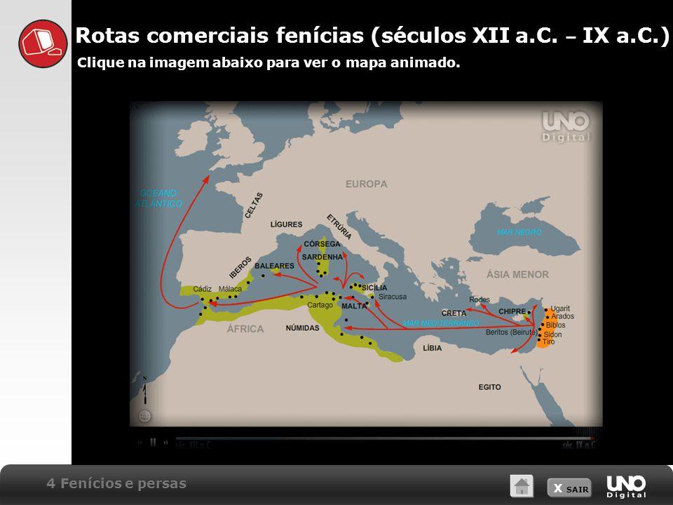 Rotas comerciais fenícias (séculos XII a.C. – IX a.C.)