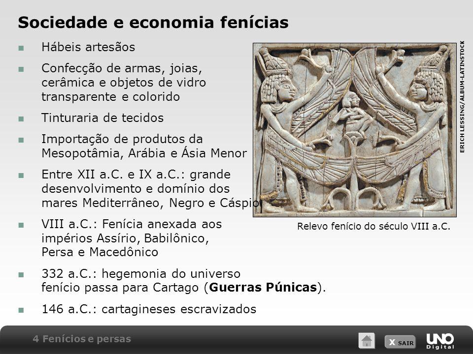 Sociedade e economia fenícias