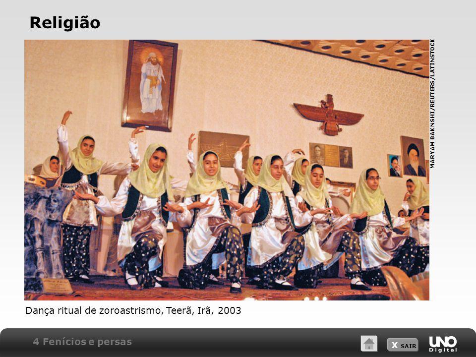 Religião Dança ritual de zoroastrismo, Teerã, Irã, 2003