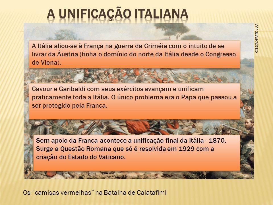 A unificação italiana