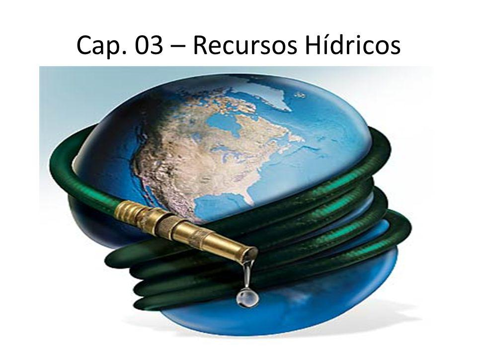 Cap. 03 – Recursos Hídricos