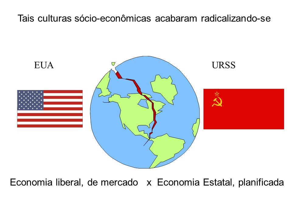 Tais culturas sócio-econômicas acabaram radicalizando-se