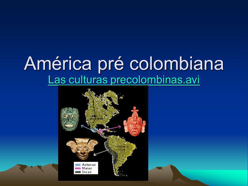 América pré colombiana