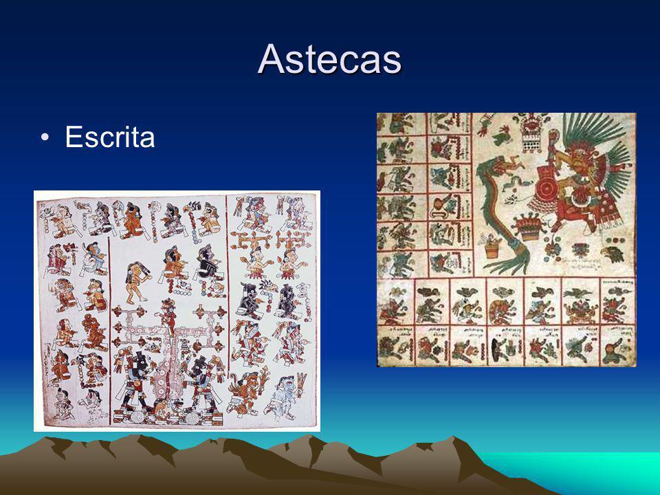 Astecas Escrita