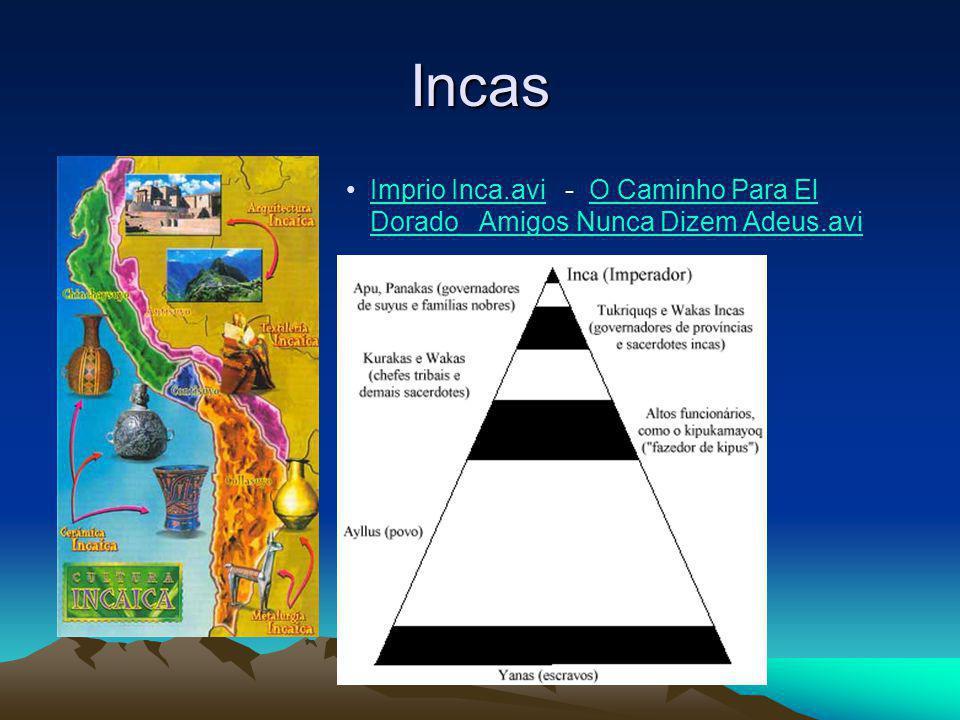 Incas Imprio Inca.avi - O Caminho Para El Dorado Amigos Nunca Dizem Adeus.avi