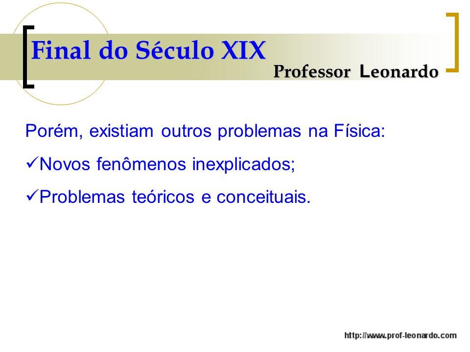 Final do Século XIX Professor Leonardo