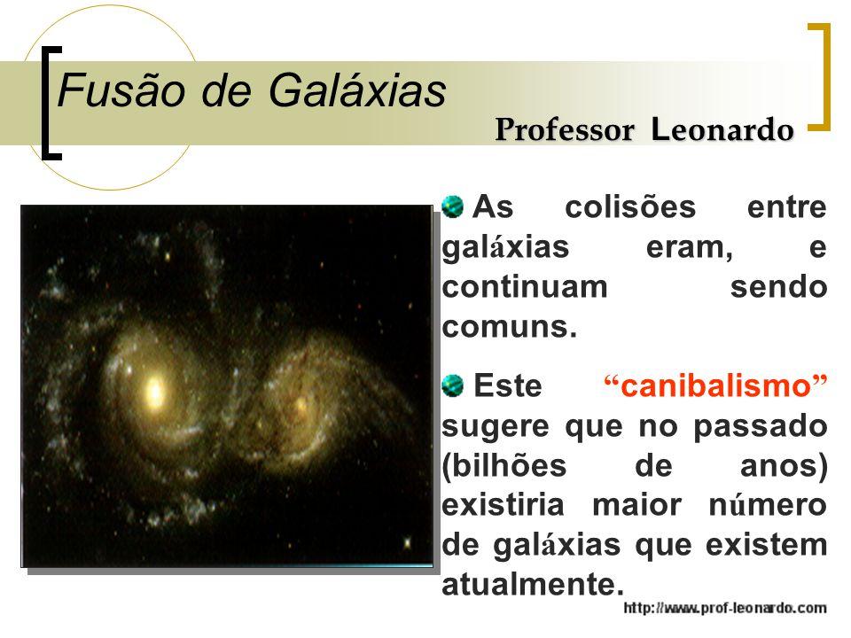Fusão de Galáxias Professor Leonardo