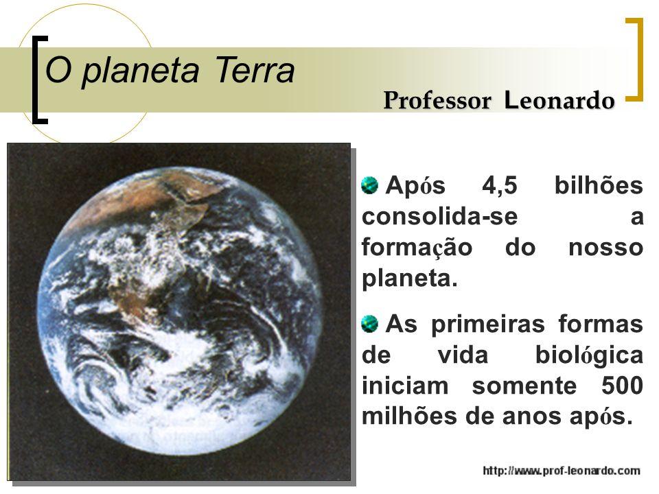 O planeta Terra Professor Leonardo