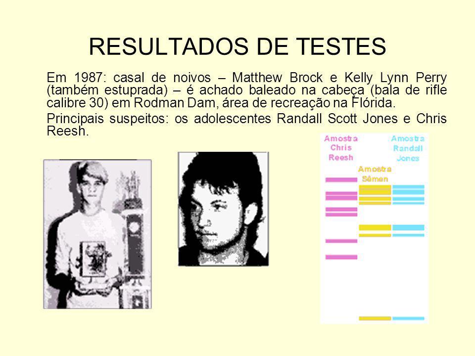RESULTADOS DE TESTES
