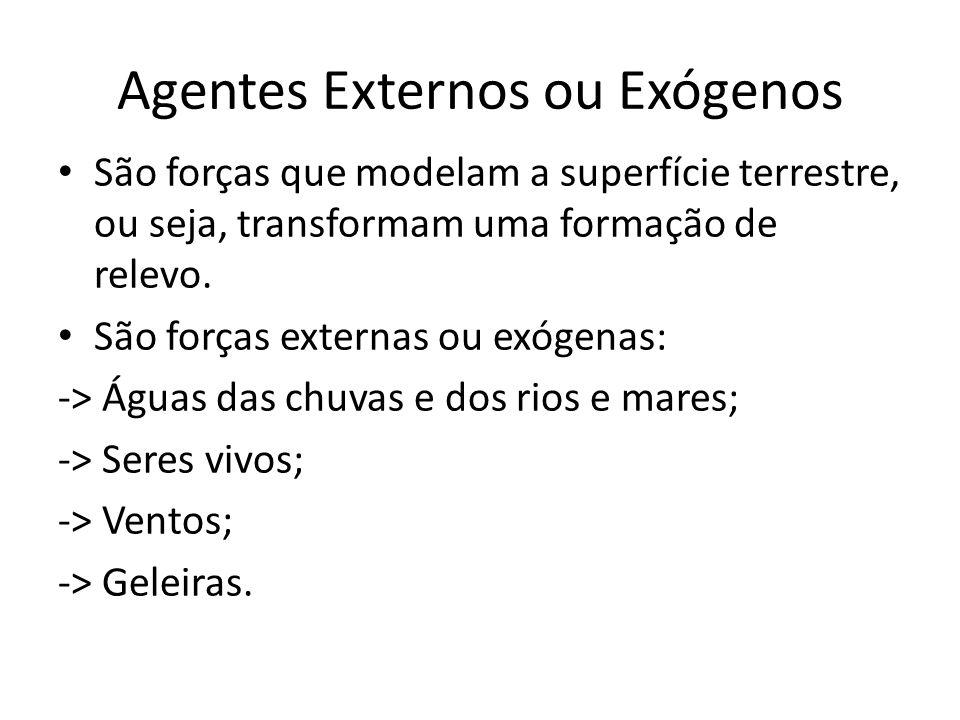 Agentes Externos ou Exógenos