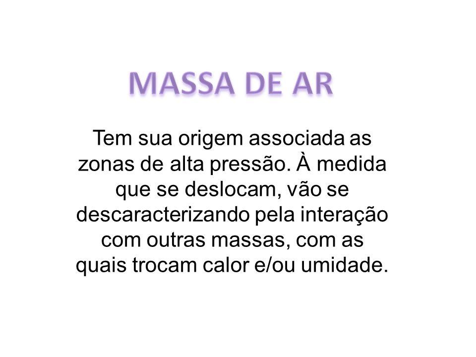 MASSA DE AR