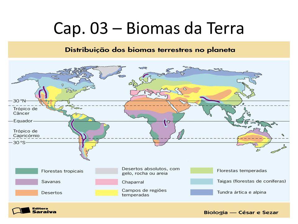 Cap. 03 – Biomas da Terra