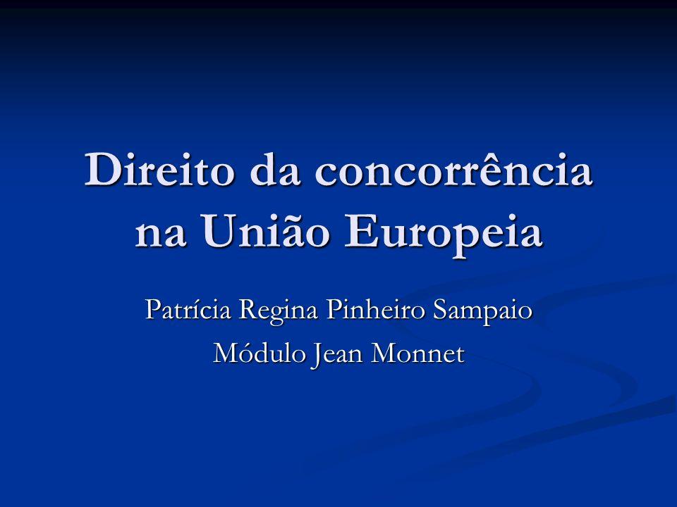 Direito da concorrência na União Europeia