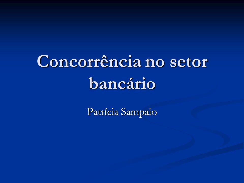 Concorrência no setor bancário