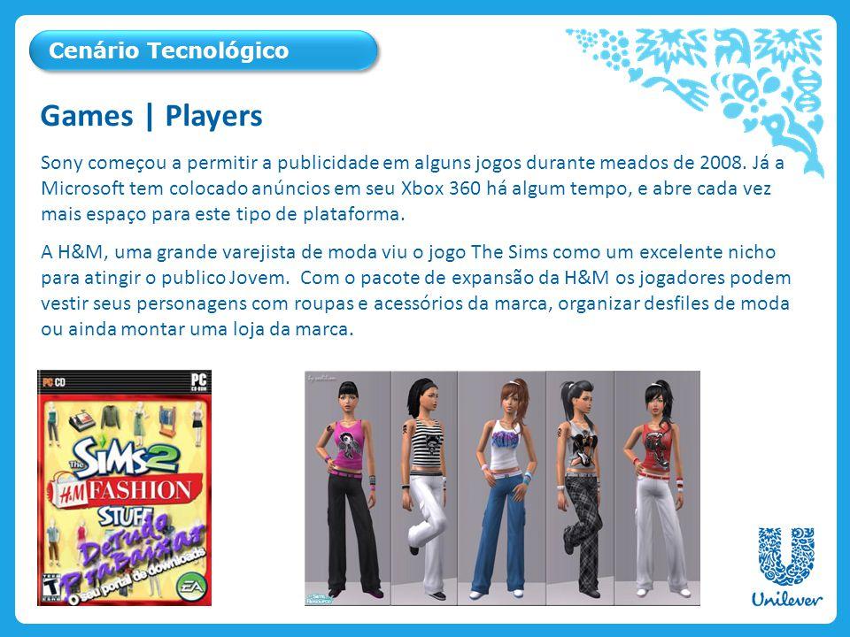 Games | Players Cenário Tecnológico
