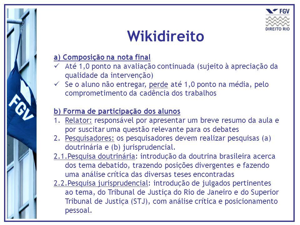 Wikidireito a) Composição na nota final