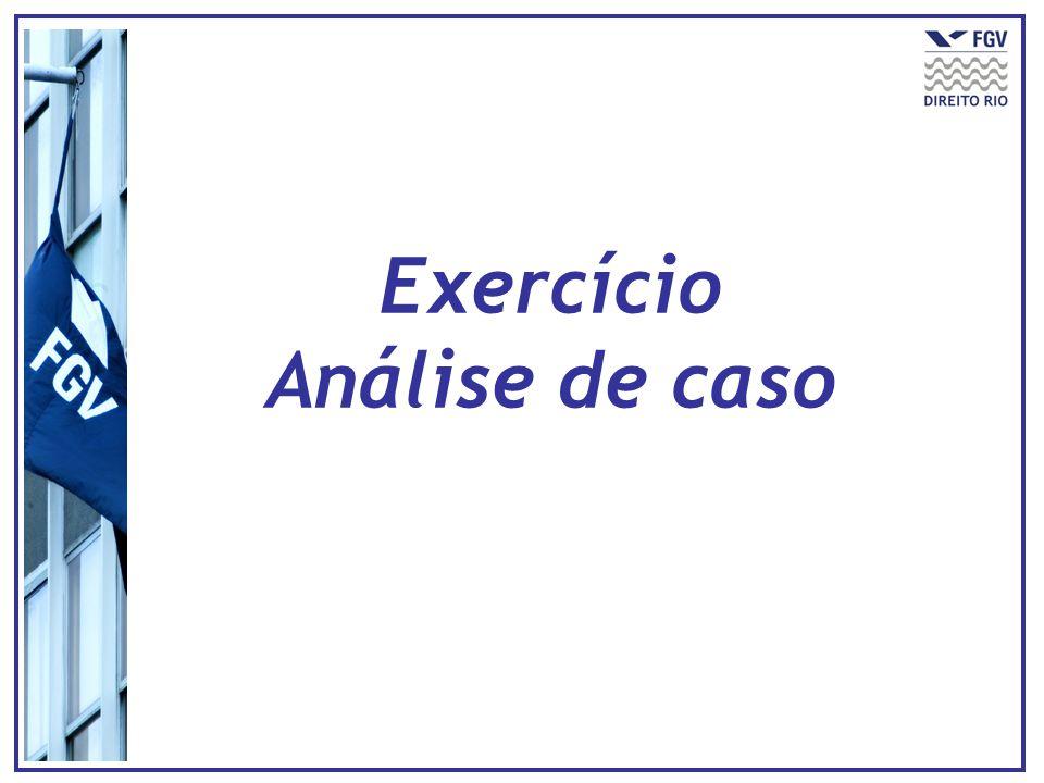 Exercício Análise de caso