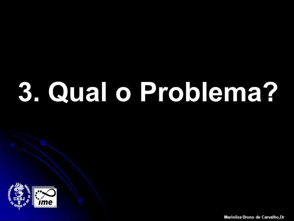 3. Qual o Problema Marinilza Bruno de Carvalho,Dr
