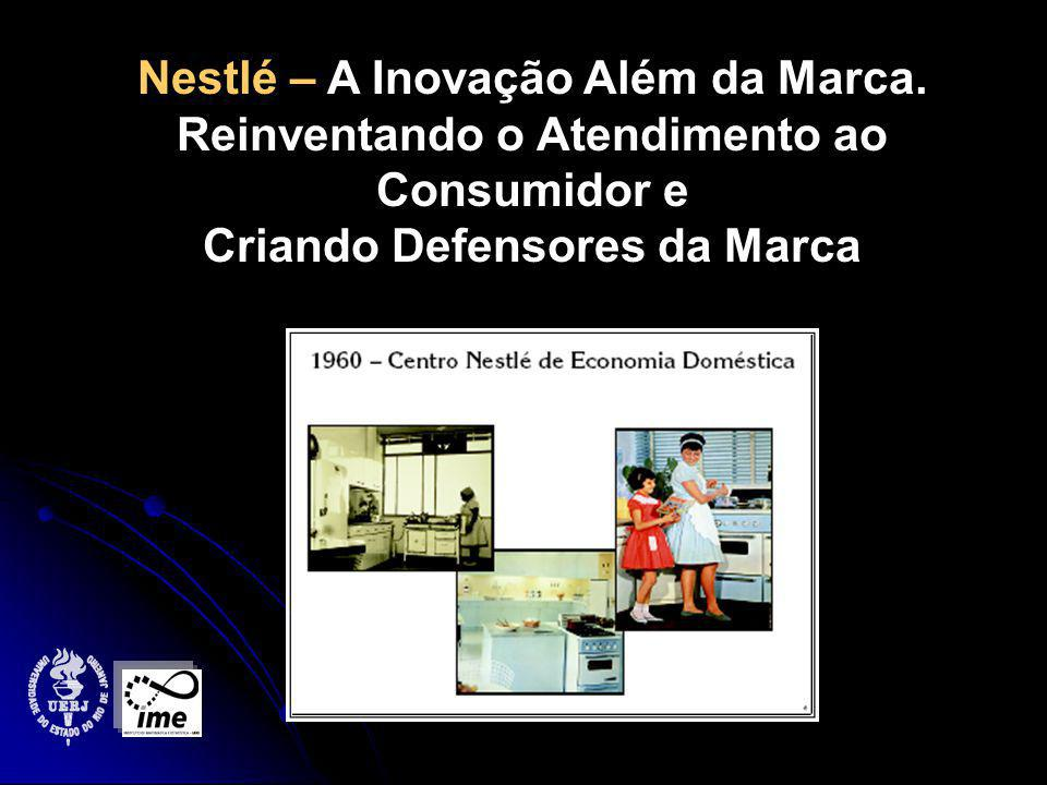 Nestlé – A Inovação Além da Marca.