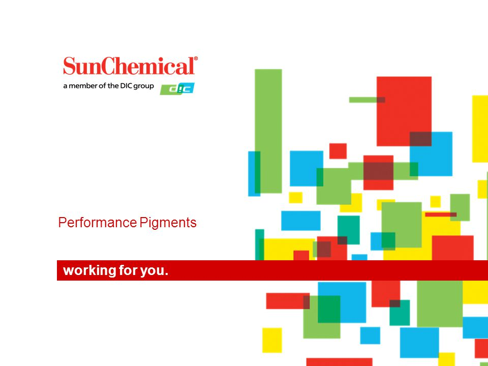 Performance Pigments