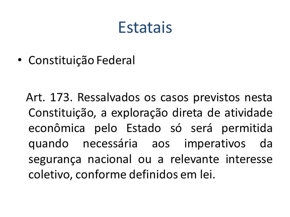 Estatais Constituição Federal