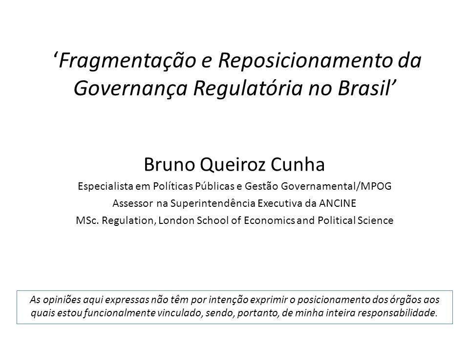 'Fragmentação e Reposicionamento da Governança Regulatória no Brasil'