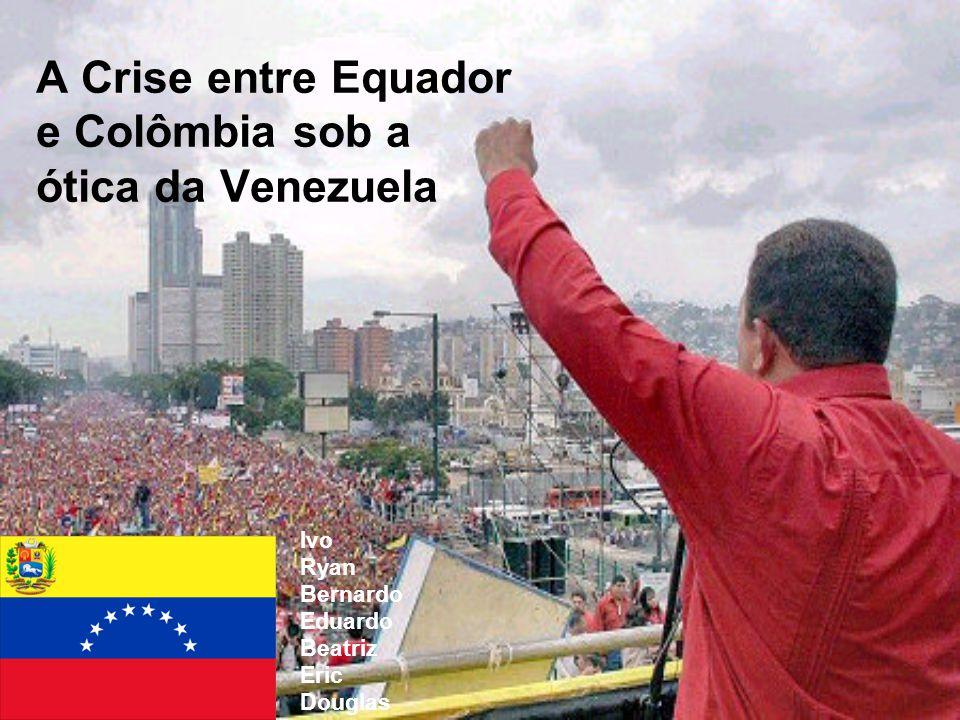A Crise entre Equador e Colômbia sob a ótica da Venezuela
