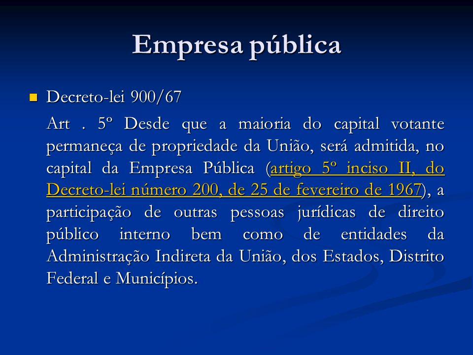 Empresa pública Decreto-lei 900/67