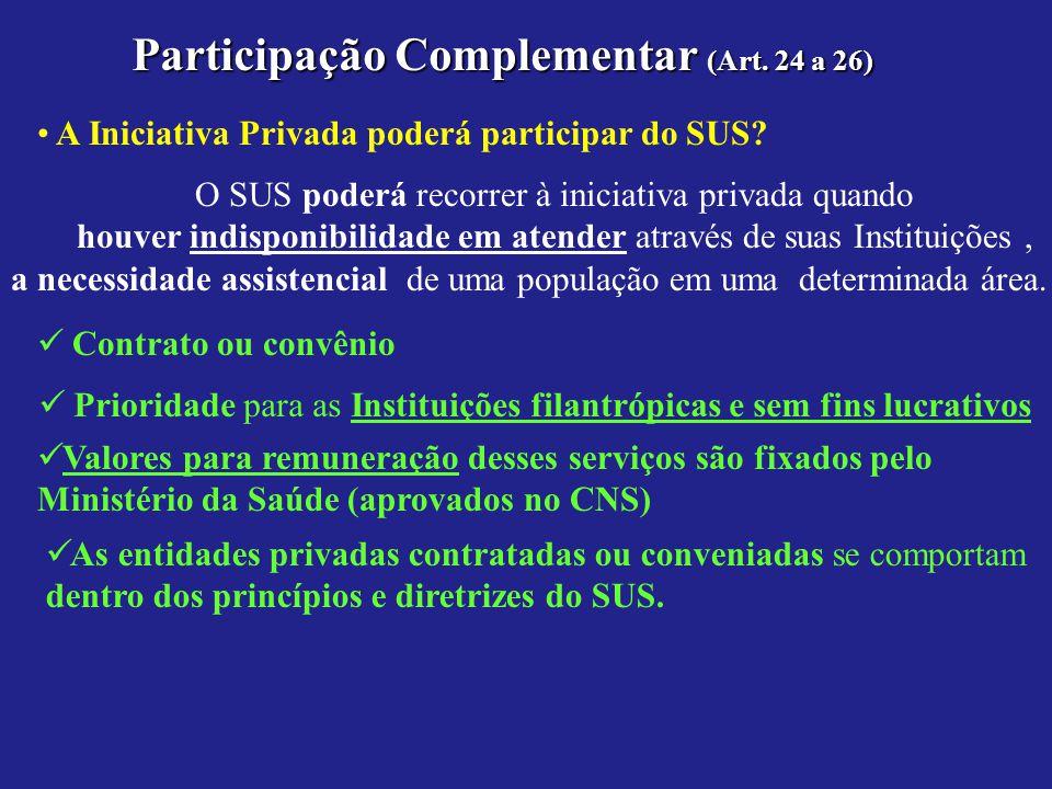 Participação Complementar (Art. 24 a 26)