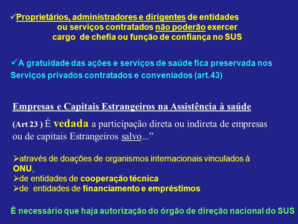 A gratuidade das ações e serviços de saúde fica preservada nos