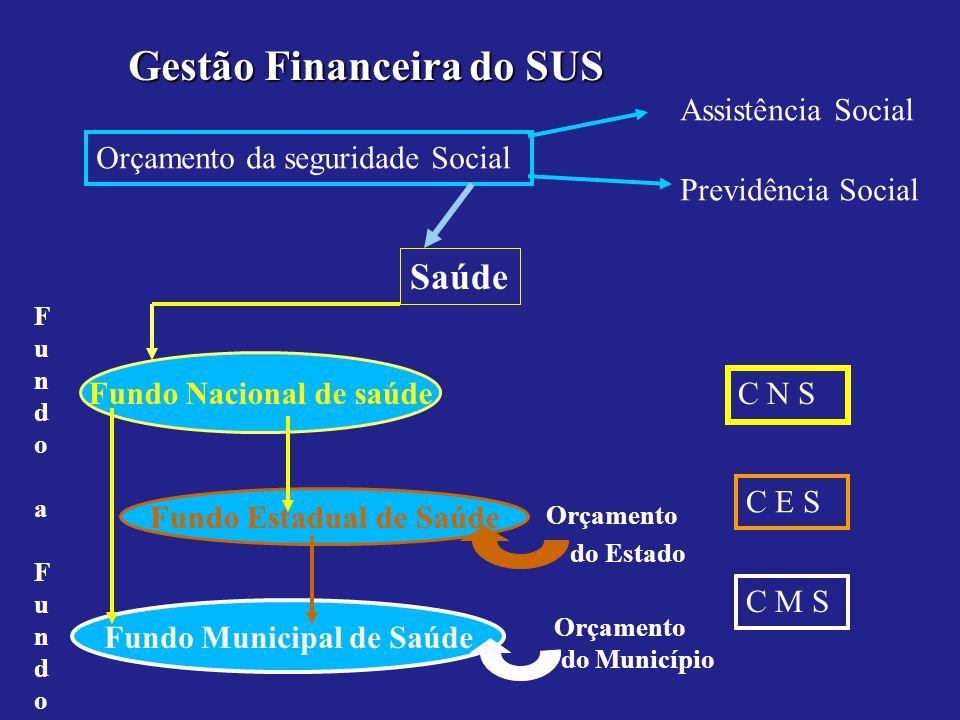 Gestão Financeira do SUS